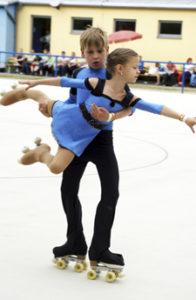 Nicolas Enders und Leonie Keil | Post SV DD
