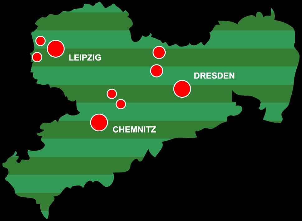 Sachsenkarte